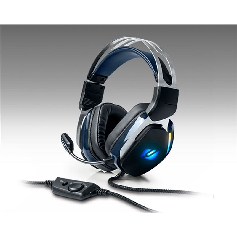 Muse M230GH GAMING H m-230 gh rgb auriculares over-ear con micro para gaming - +23769 #14