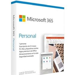 Microsoft QQ2-01006 365 personal - word - excel - powerpoint - outlook - 1tb almacena - QQ2-01006