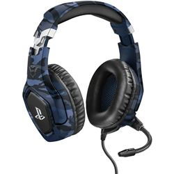 Trust 23532 auriculares gaming gxt488 forze ps4 azul - 23532