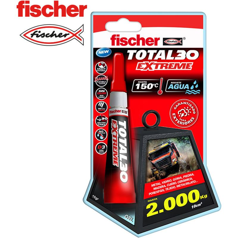 Fischer blister total 30 extreme - 15g 4048962291964 - 96013