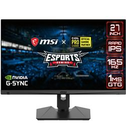 Msi 9S6-3CA88A-020 monitor gaming ips 27 optix mag274qrf 1ms/165hz/1xdp/2 - 9S6-3CA88A-020